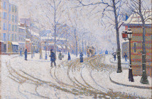 Paul Signac Snow, Boulevard de Clichy