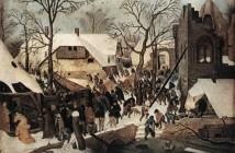 Pieter Brueghel il giovane Adorazione dei Magi