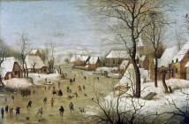 Pieter Brueghel il giovane Trappola per uccelli