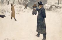 Repin, Ilja Efimowitsch  Pushkin  Eugene Onegin  Illust. Repin