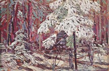 Tom Thomson, 1916 snow-in-the-woods-1916