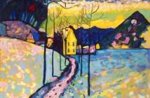 Vasilij Kandinskij - Paesaggio invernale 1909