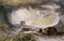 William Turner, Il passaggio del Moncenisio