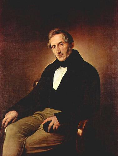 Alessandro Manzoni, Francesco Hayez (1841)