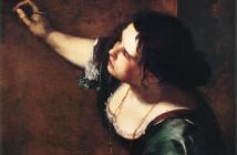 Autoritratto come allegoria della Pittura metà
