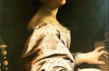 Autoritratto come santa Cecilia (1620)