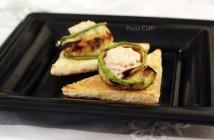 Crostidi zucchina e mousse al tonno (5) F