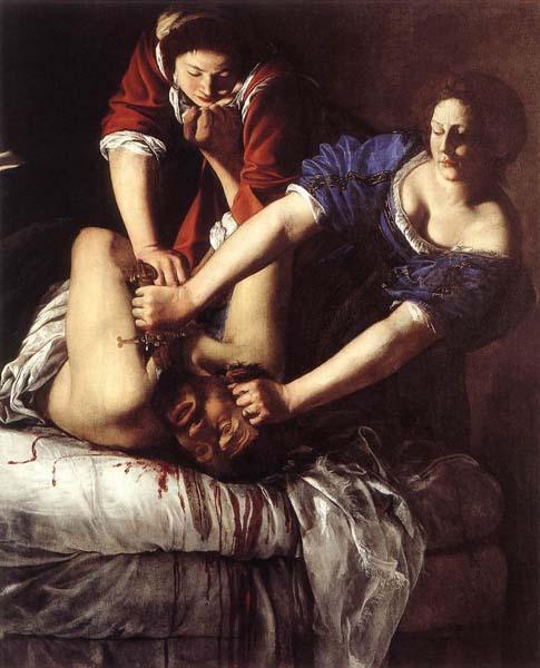 Giuditta che decapita Oloferne (1612-1613), Museo Nazionale di Capodimonte, Napoli
