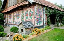 Zalipie-painted-village
