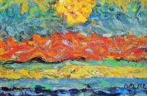 Landscape with Sun (1909)