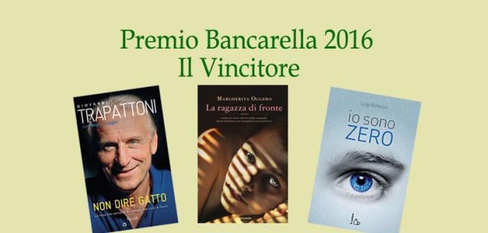 Premio Bancarella 2016: il vincitore