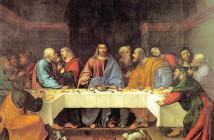 1 Romanino_Ultima cena_Santa Giustina_1513
