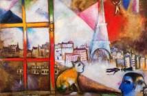 2 Chagall - Parigi attraverso la finestra
