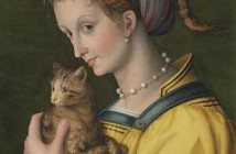 3 Bacchiacca, Donna con gatto, 1525