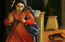4 Annunciazione - Lorenzo Lotto