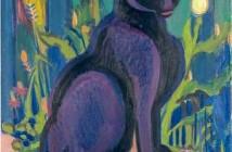 4 E. L. Kirchner, Gatto nero, 1926