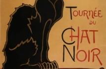 4 Théophile-Alexandre Steinlen con il suo famoso Chat noire