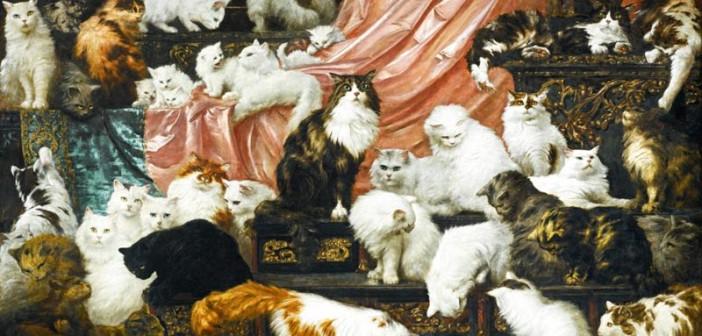 Il gatto in arte