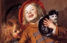 6 Judith Leyster, Due bambini con un gatto, 1629