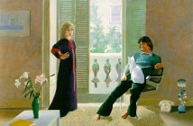8 David Hockney - Mr and Mrs Clark and Percy 1970-71
