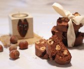 Cantucci al cioccolato e nocciole