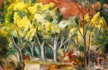 Paul Nash - Bosco di mimose (1889-1946)