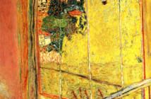 Pierre Bonnard - L'atelier au mimosa -1935