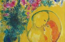 Marc Chagall-Sole e mimosa,1949