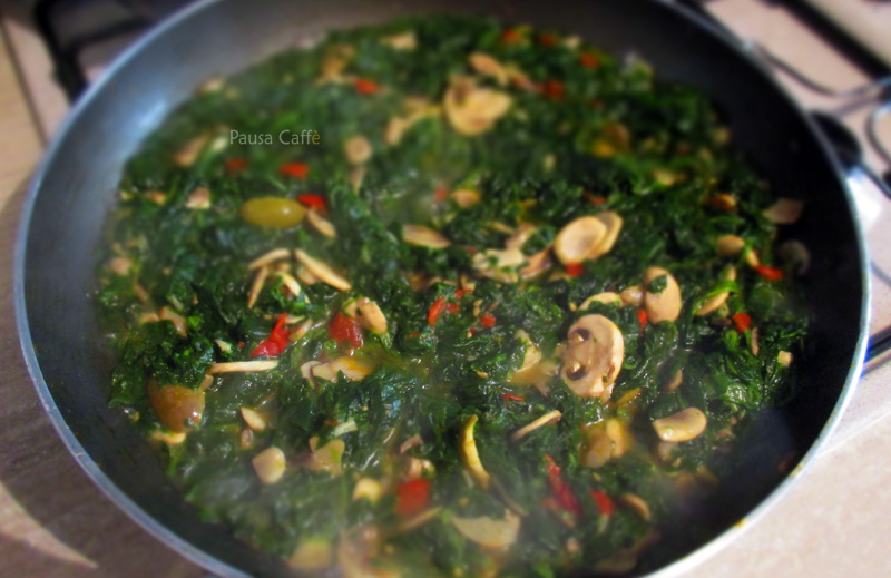 spinaci con funghi (2) 1 F