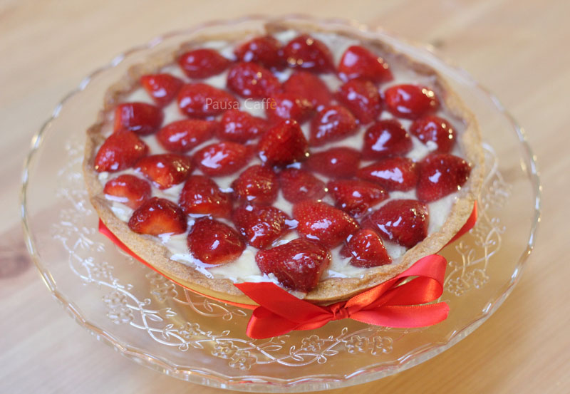 Crostata crema fragole (4) F