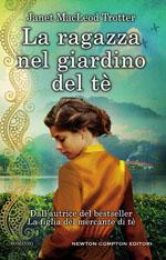 La ragazza nel giardino del tè