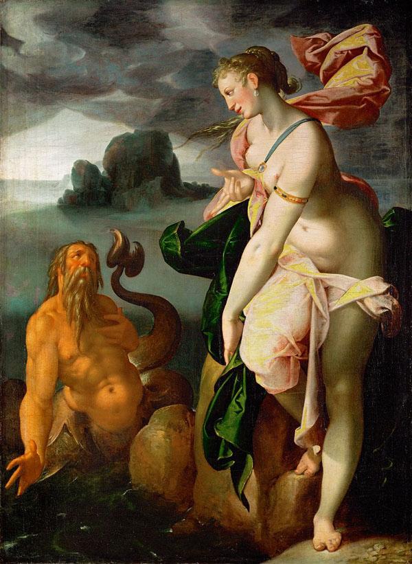 Glauco e Scilla di Bartholomäus Spranger.