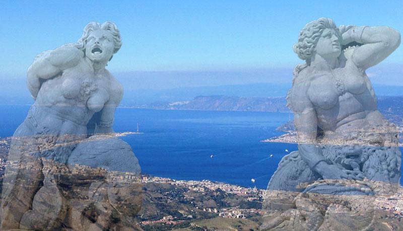 Stretto di Messina - Scilla e Cariddi