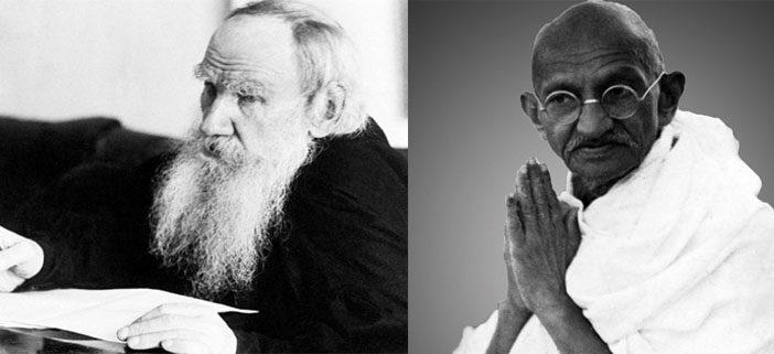 Lettere tra Lev Tolstoj e Mahatma Gandhi