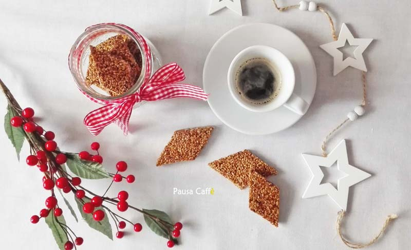 Buon Natale Con Il Torrone.Torrone Al Sesamo Giuggiulena O Cubbaita Pausa Caffe