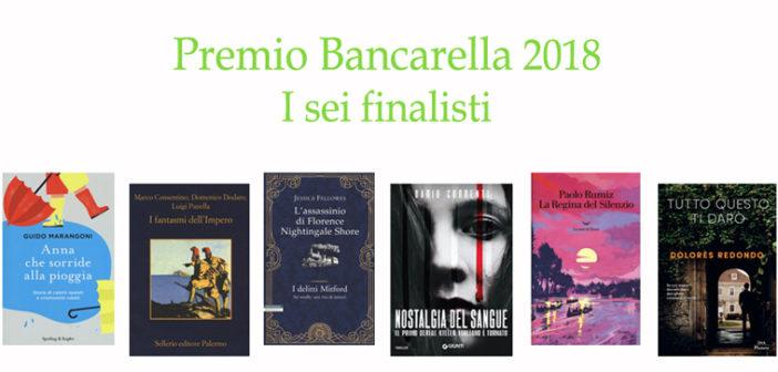 Premio Bancarella 2018: la sestina finalista