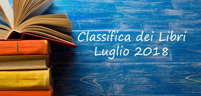 Classifica dei libri mensile – Luglio 2018