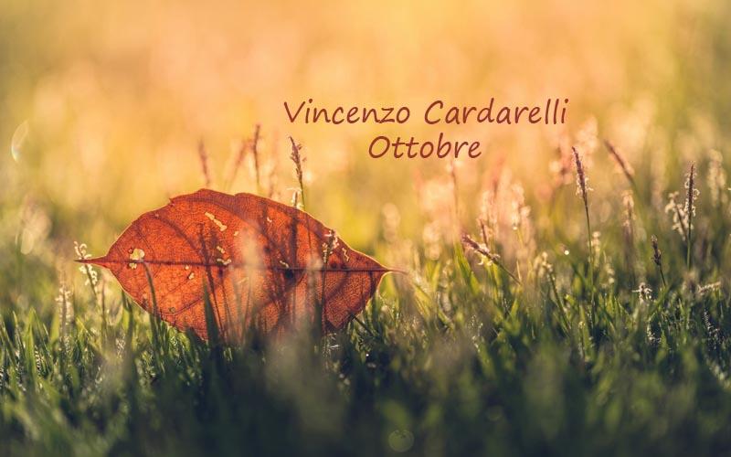 Vincenzo Cardarelli Ottobre Pausa Caffè