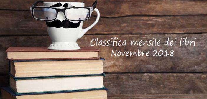 Classifica mensile dei libri – Novembre 2018