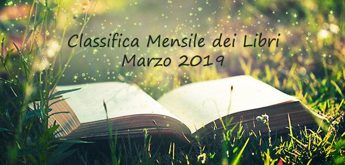 Classifica mensile dei libri – Marzo 2019