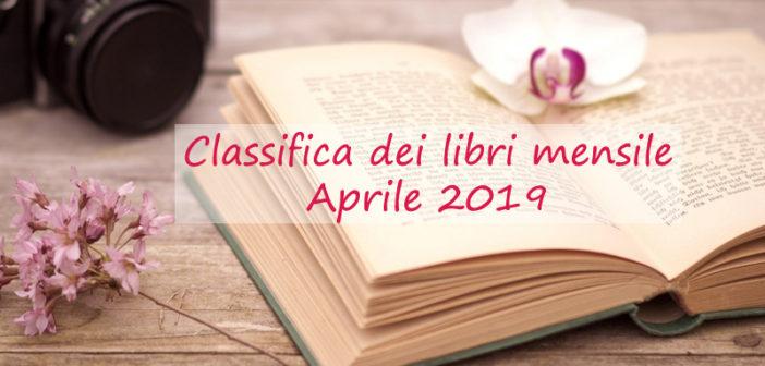 Classifica dei libri mensile – Aprile 2019