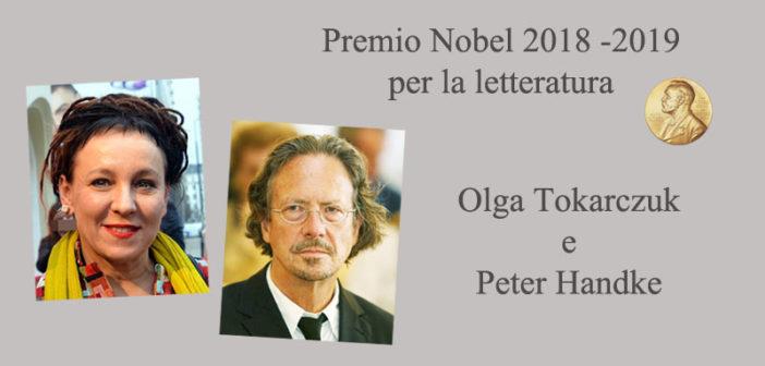 Premio Nobel alla Letteratura 2019: Olga Tokarczuk e Peter Handke