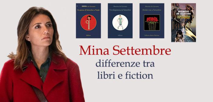 Mina Settembre, dai libri alla serie TV